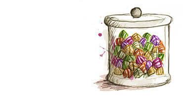 Confiserie : bonbons & sucettes