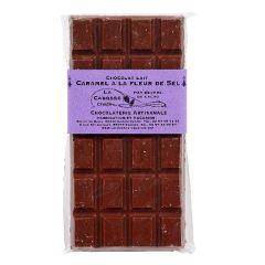 Tablette de chocolat au lait caramel au beurre salé