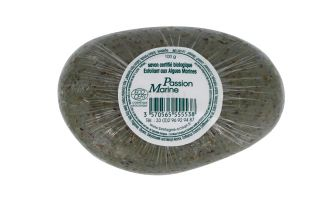 Savon bio exfoliant aux algues marines