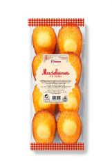 Madeleines pur beurre en barquette