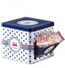 Boîte distributrice de Mini galettes bords de tasse