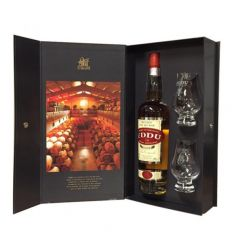 Coffret Whisky Eddu Silver  plus verres