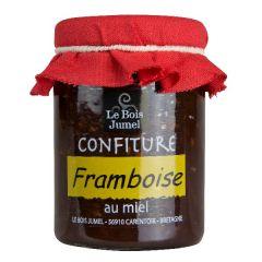 Confiture de framboise au miel 120g