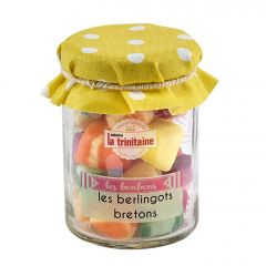 Berlingots aux fruits en petit pot